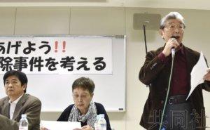 安倍街头演说起哄听众要求北海道警方对驱逐作出解释