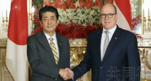 """安倍结束""""即位礼外交"""" 与62名外国要人会谈"""
