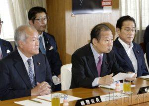 日本自民党修宪总部新体制启动
