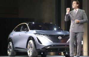 日产四轮驱动EV全球首次亮相
