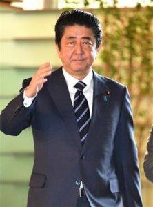 追踪安倍晋三首相(27日)