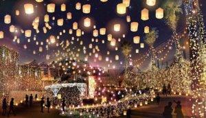 2019大阪枚方公园「光之游园地」冬季灯饰带大家一起进入时光罗盘神秘世界