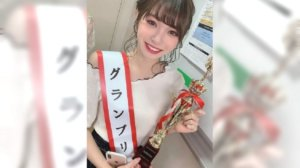 全日本就她最萌19岁大一电眼正妹甜笑封后