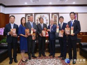 日本滋贺县议会访南市议会郭信良盼两会年年交流