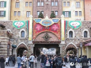 东京迪士尼推出圣诞节特别活动