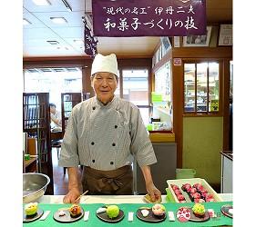 到松江歴史馆「吃茶きはる」品尝日式和果子