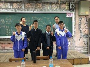 日本高校来交流金山高中教说国、台语