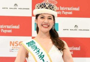 历年最年长国际小姐日本代表网友:「普通」的美女才好!
