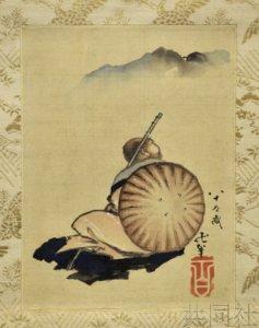 葛饰北斋两幅晚年亲笔画首次现身日本