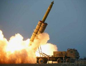 朝媒称金正恩观摩导弹发射试验 日美确认合作应对