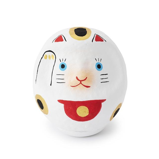 縁起物同士による最強の組み合わせ、招き猫だるま【連載:アキラの着目】