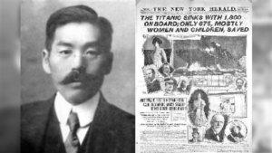 铁达尼号唯一日本幸存者!返国遭挞伐⋯死后手札揭生还真相