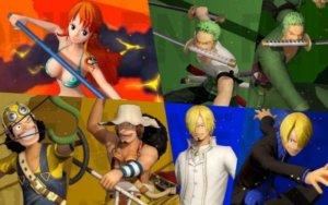 《One Piece 海贼无双4》公开草帽一伙人「索隆/娜美/骗人布/香吉士」角色介绍影片