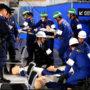 假想东京奥运期间发生7级地震 有明地区举行应对灾害训练
