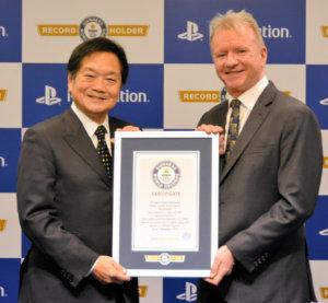 """吉尼斯世界纪录认定索尼PS系列为""""世界销量最多的家用游戏机"""""""