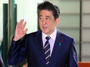 追踪安倍晋三首相(1日)