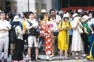 日本四口之家月花4,390美元京都工会团体吁提高薪资