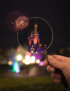 摄影师巧手!透过一片放大镜拍出没见过的东京迪士尼