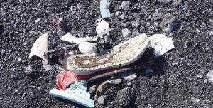 日本西之岛塑料垃圾污染严重