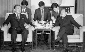 """侧记:已故日本前首相中曾根推动构建日中""""蜜月"""""""