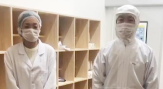 東和化粧品株式会社(劉凱鵬代表) 柳川工場潜入レポート(2)