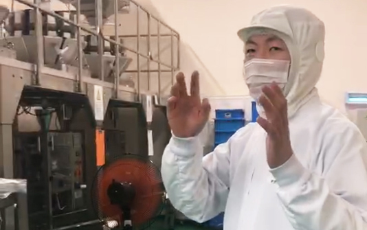 東和化粧品株式会社(劉凱鵬代表) 柳川工場潜入レポート(3)