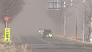 北海道天候异常没暴风雪罕见吹起沙尘暴