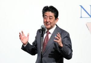 追踪安倍晋三首相(24日)