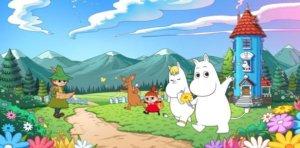人气角色噜噜米全新改编休闲益智《Moomin Friends》2020年1月中即将推出