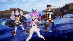 《碧蓝航线Crosswave》Steam版发售日决定!DLC「Neptunia 战机少女」也将免费推出