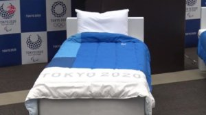 蓝色基调、容纳1.8万人 东京奥运村将于7月14日开村