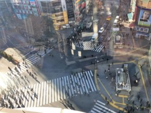MAGNET by SHIBUYA 109的十字马路观景台
