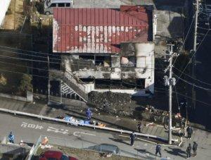 日本千叶一栋单身公寓被烧毁 致3人死亡