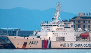 中国海警船驶入钓鱼台海域2020年首度