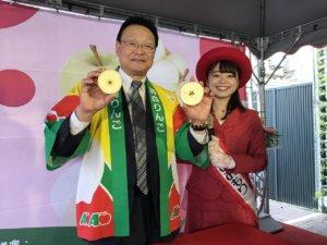枫康超市日本青森苹果祭挑战3,600万业绩