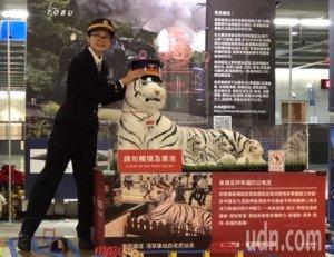 影/不用到日本也能看浅草白虎!南港站点灯仪式超吸睛