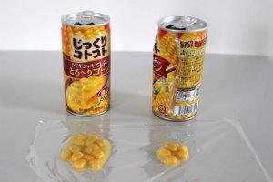 如何喝光玉米汤罐里的玉米达人献计「压一下就好」