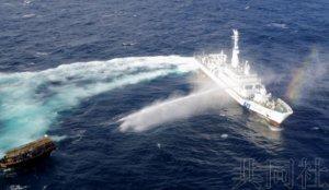 """海保2019年在""""大和堆""""警告朝鲜渔船数减少"""