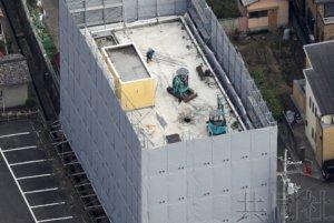 京都动画纵火案现场建筑物拆除工程启动