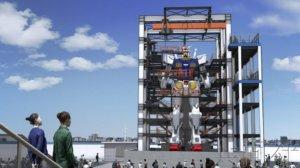 """可动实体大""""高达""""将于10月亮相横滨"""