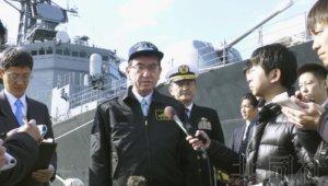 关注:海自护卫舰将于2月下旬开启活动