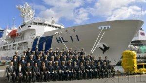日本海保大型测量船完工交货