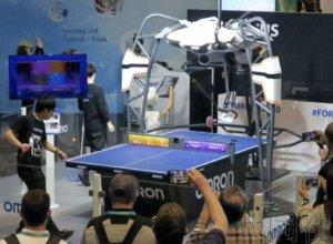 CES展日企纷纷借乒乓球运动展示最新技术
