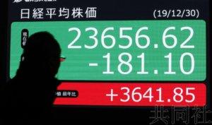 调查显示看好当前景气的日本企业不到两成