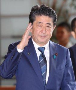 追踪安倍晋三首相(15日)