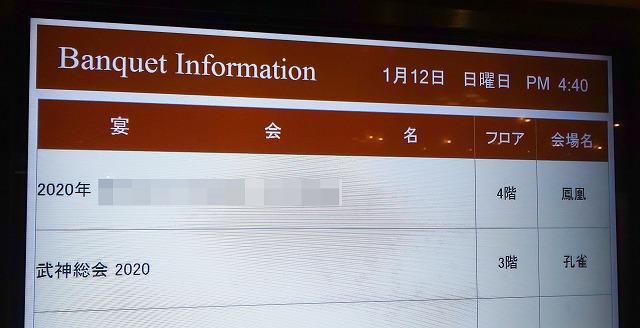 「武神総会2020」の開催場所・名古屋キャッスルプラザホテル