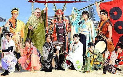 信州上田おもてなし武将隊 真田幸村と十勇士