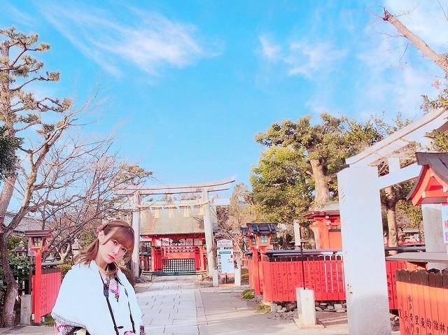 モーニング娘'20のサブリーダー・生田衣梨奈さん 芸能神社公式HPから引用