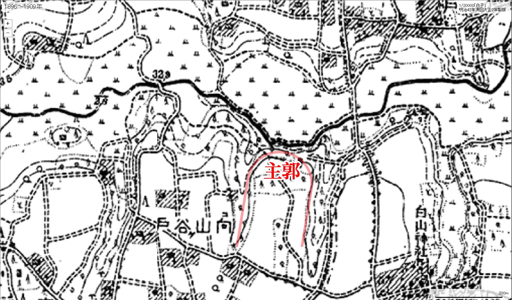 1896-1909練馬城址