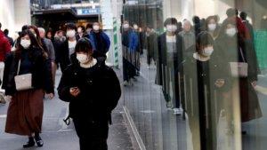 武汉肺炎日媒民调85%受访者感到不安